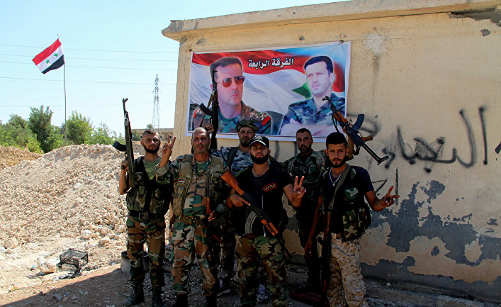 США ударили по российским разведчикам в Сирии?