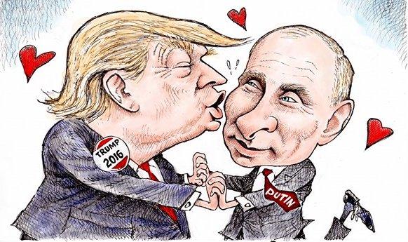 Спасибо деду за Победу! Политические анекдоты о Дональде Федоровиче Трампе