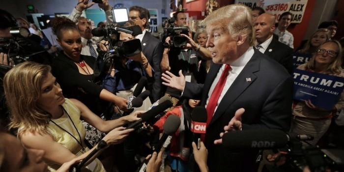 Американские журналисты написали угрожающее письмо Трампу