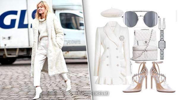 8 доказательств, что белый зимой носить можно и даже нужно
