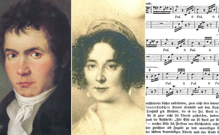 """Трогательное творение Бетховена: кому была посвящена """"К Элизе"""""""