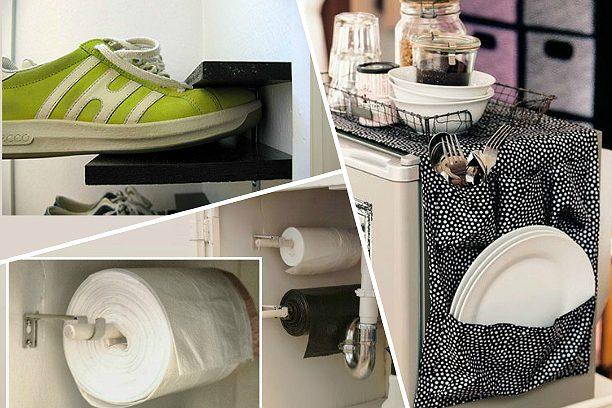 25 нужных вещей, если вы живёте в маленькой квартире