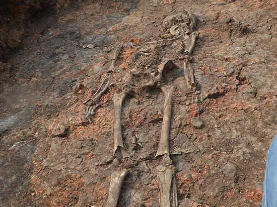 На Аркаиме найдена соплеменница «инопланетянки»