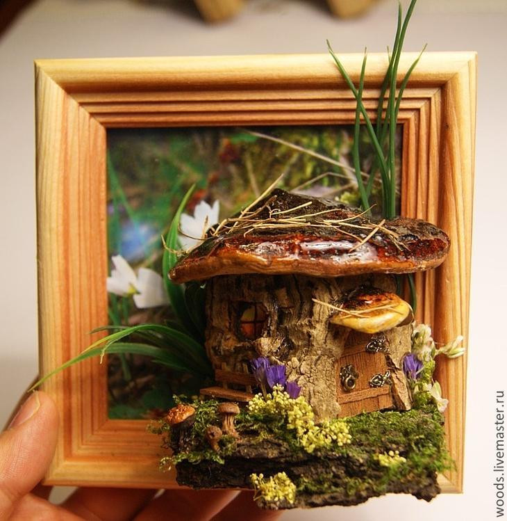 Картина из природных материалов своими руками