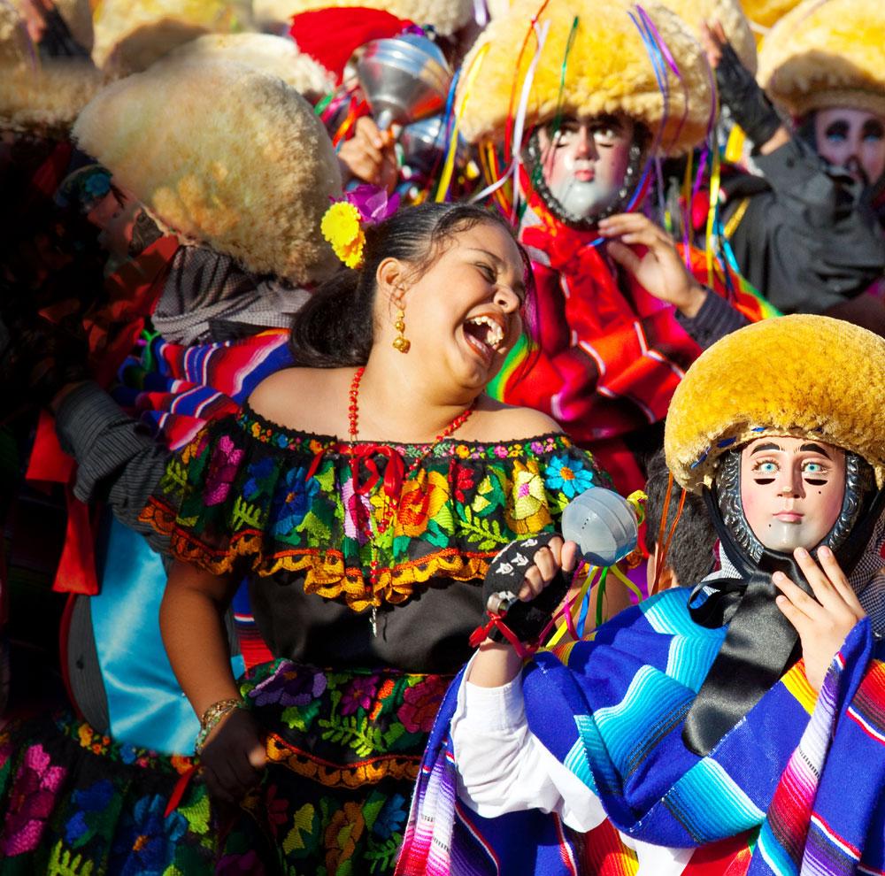 Традиции: Мексика. Танцы в масках