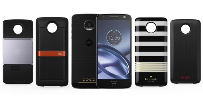 Смартфоны Moto Z обзавелись двумя новыми модулями Moto Mods