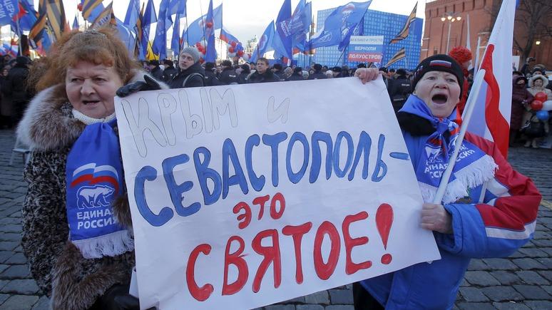 Украинский журналист: голодная Россия будет менять Крым на еду