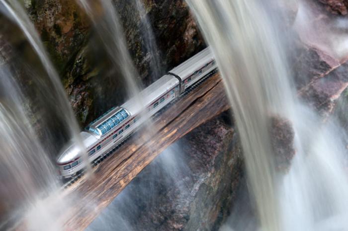 Туннель под водой, Новая Шотландия. Автор: Jeff Friesen.