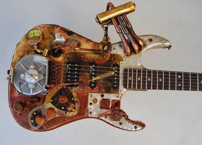 22 гитары в стиле стимпак