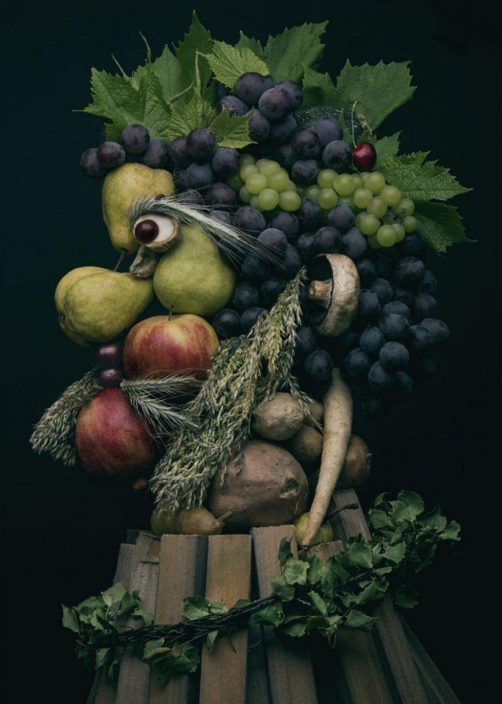 7 потрясающих портретов из овощей