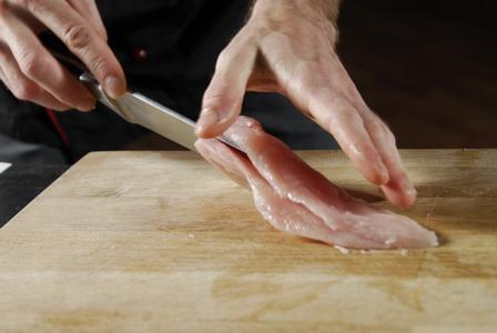 рецепт пошагово куриной грудки, фаршированной орехами - шаг 1