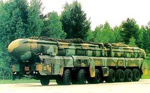 Передвижение ракет Тополь