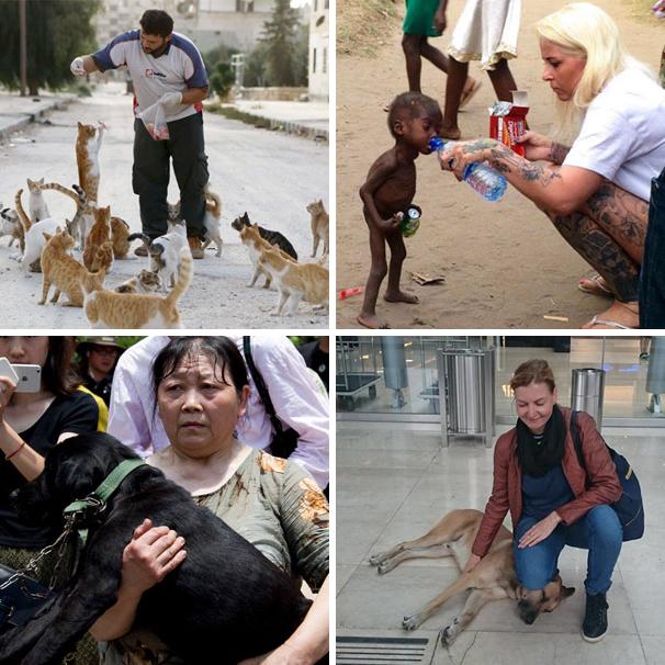 10 человек, которые вернули нашу веру в человечность в 2016 году