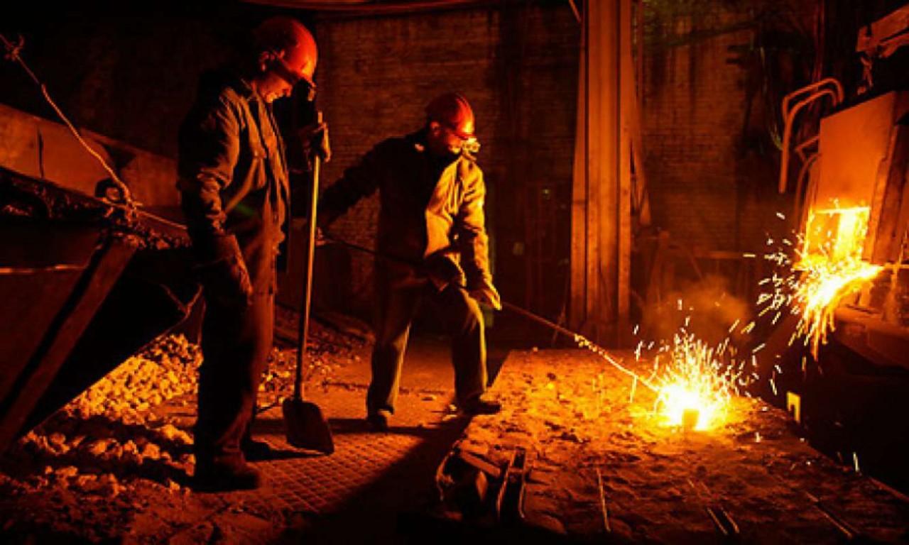 Путин поздравил работников металлургического комплекса с профессиональным праздником