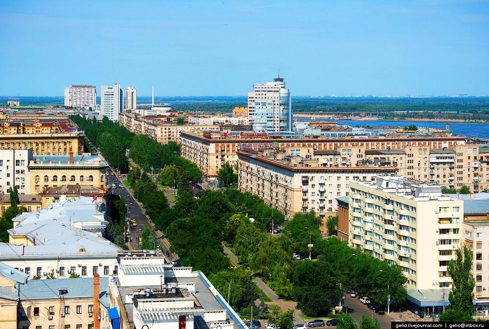 Проспект Ленина — главная улица Волгограда