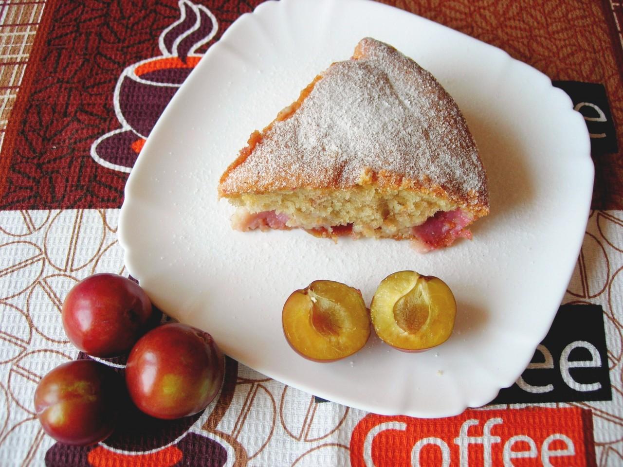 Сливовый пирог. Самый простой рецепт!