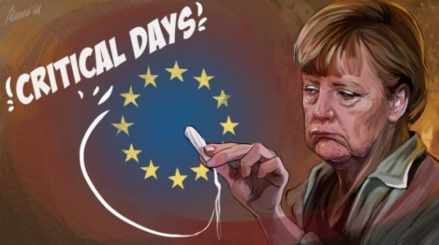 Меркель «пришла к успеху»: печальное будущее ЕС определено..