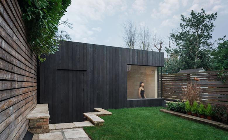 Функциональный садовый сарай в восточном Лондоне