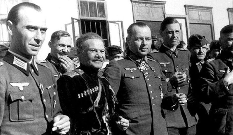 Казнь казачих атаманов Гитлера...