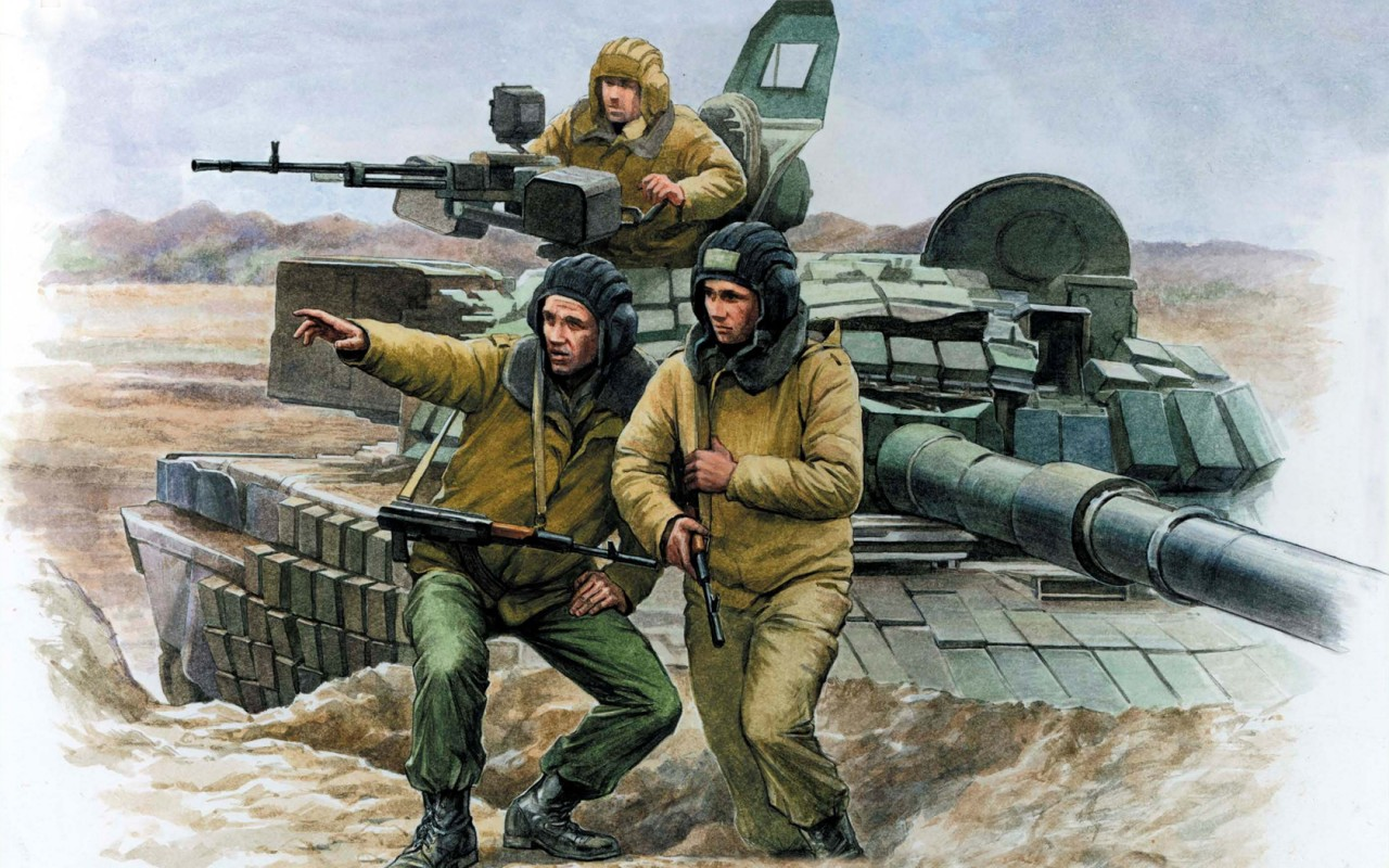 «Умру, но машину не брошу!»: пять подвигов танкистов в современной России