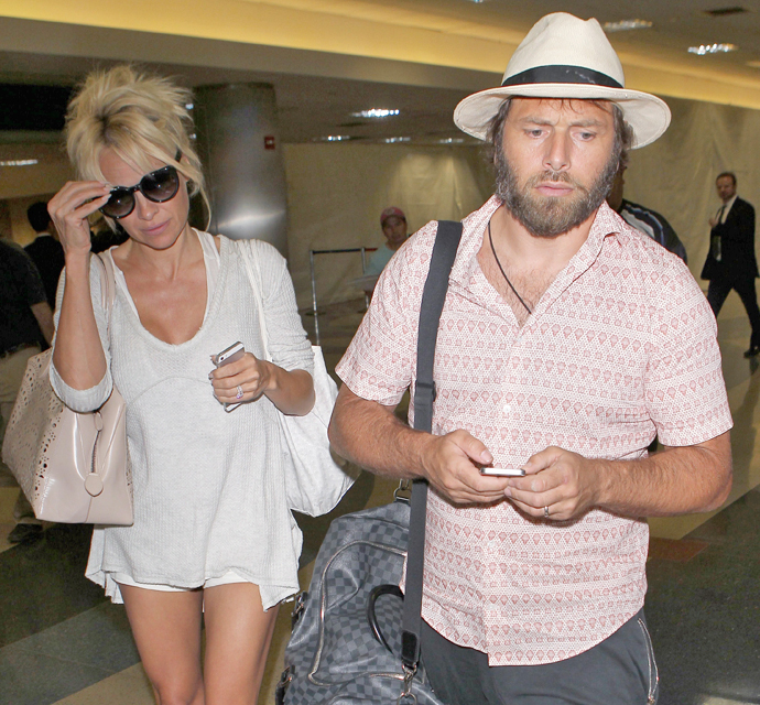 "Pamela Anderson: Marriage ""Has Its Ups And Downs"""