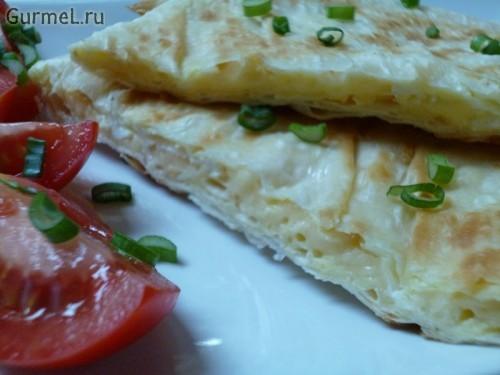 P1110569 500x375 Ёка   гениальный сырный омлет в лаваше   Gurmel