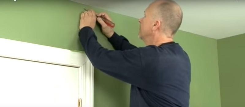 Как заделать трещины в стене