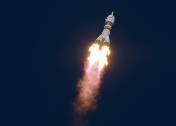 Экипаж аварийного «Союз МС-1…