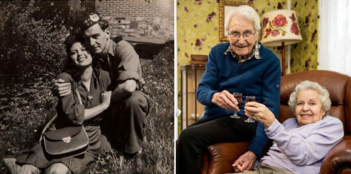 Выжившая жертва холокоста и спасший ее солдат прожили 71 год вместе
