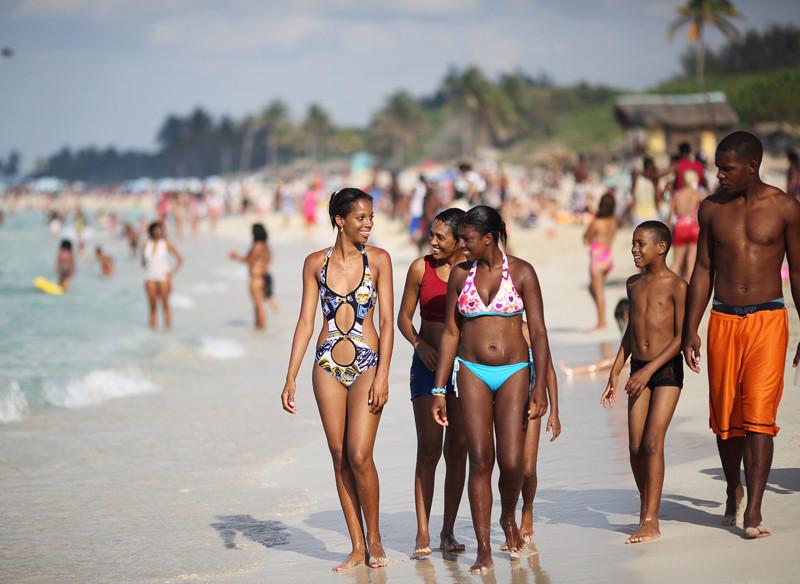 девушки с кубинских пляжей фото