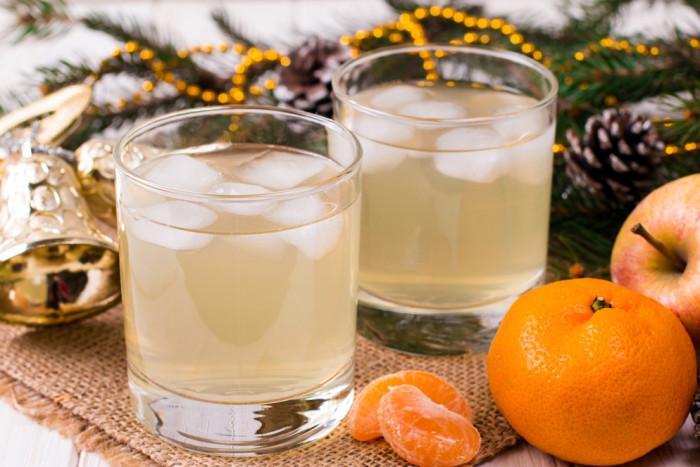 мандарины лимонад