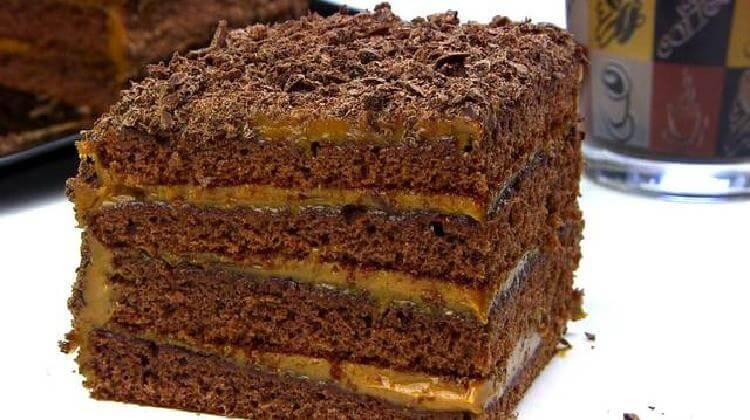 Быстрый торт «Спартак»