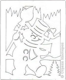 Вырезание: Новогодние мотивы Бумага Новый год. Фото 5