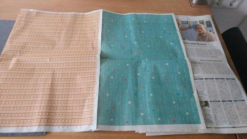 Немецкая газета напечатала на двух страницах упаковочную бумагу