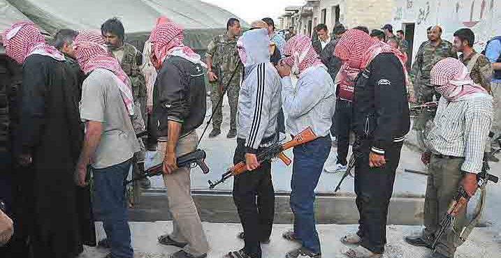 Капитуляция: боевики в Алеппо планируют сдаться.