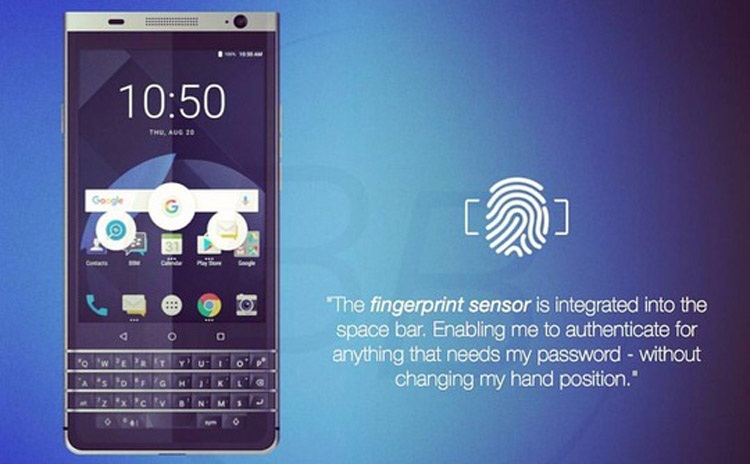 Android-смартфон BlackBerry DTEK70 с QWERTY-клавиатурой появится в начале 2017 года