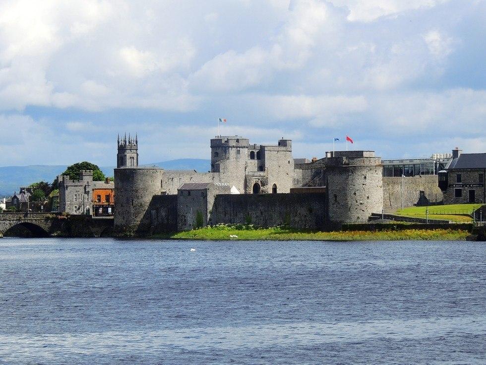Замок короля Иоанна Безземельного в Лимерике