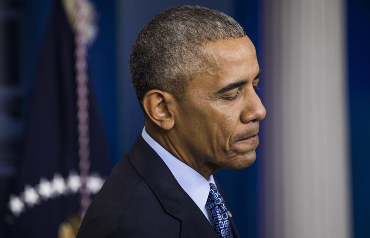 Участники акции в Нью-Йорке обвинили Обаму и Сороса в организации переворота на Украине