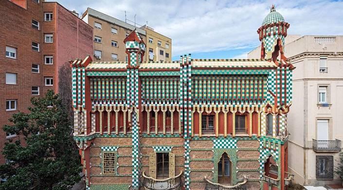 Первое здание, построенное Гауди, открыло свои двери для посетителей