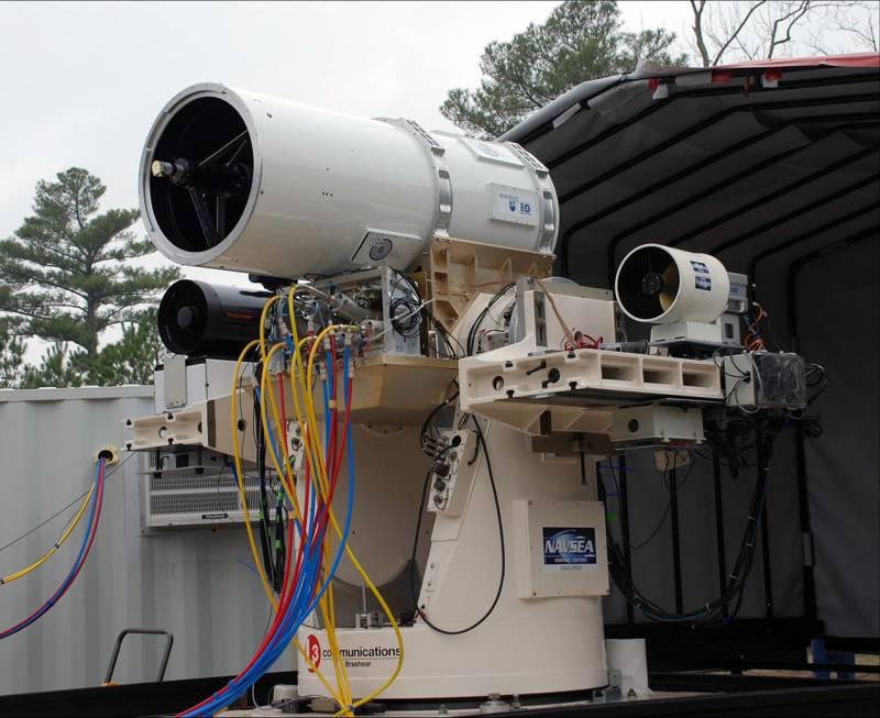 Лазерный комплекс XN-1 LaWS / AN/SEQ-3 (США)