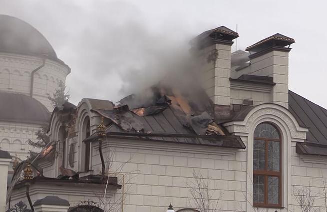 ВСУ обстреляли храм в Горловке, служивший бомбоубежищем
