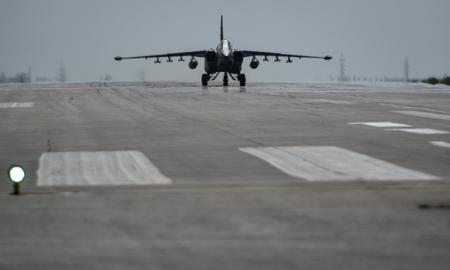 В Крыму впервые начался ремонт самолётов-штурмовиков Су-25