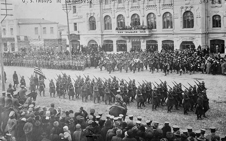 ИНОСТРА́ННАЯ ВОЕ́ННАЯ ИНТЕРВЕ́НЦИЯ 1918-1922