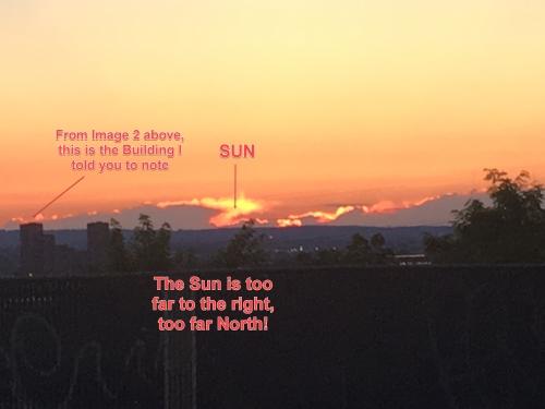 Солнце заходит не там! И это видят уже многие
