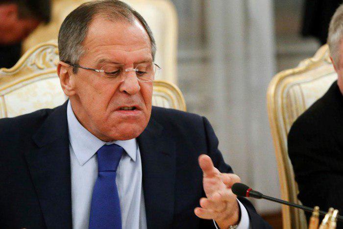 Лавров в ярости ответил хохлам: Украина прижата к стене