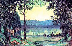Аполлинарий Васнецов. «Озеро Светлояр». 1906 г.