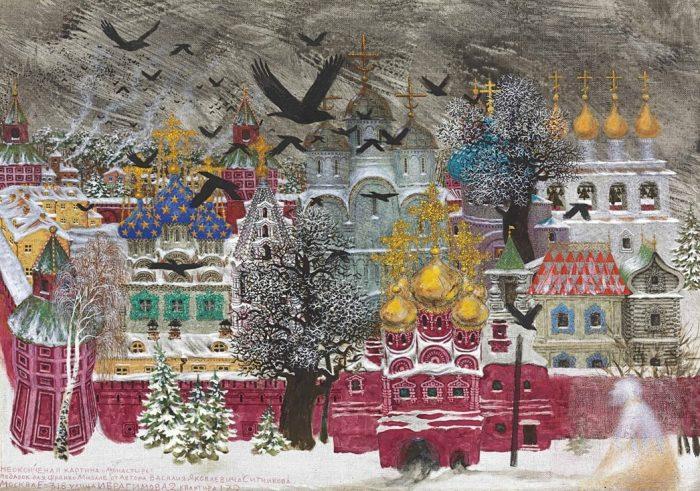 художник Василий Ситников картины - 14