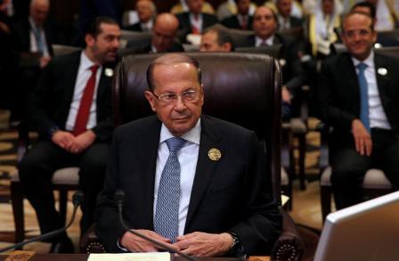 Президент Ливана после падения насаммите ЛАГ чувствует себя нормально