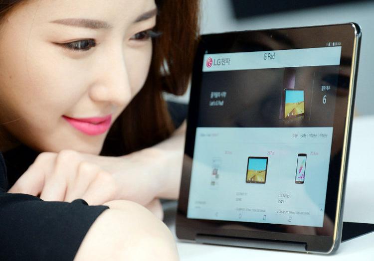 Анонсирован 10,1-дюймовый планшет LG G Pad III 10.1 с подставкой
