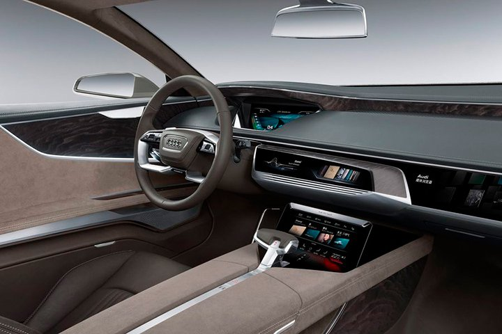 Новая Audi A7 2018 года